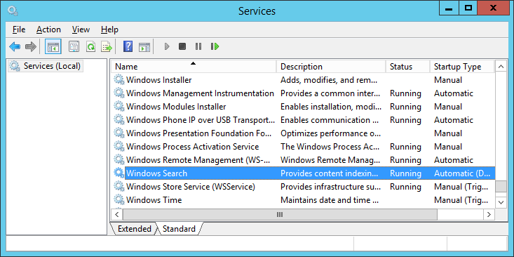 Windows Search (Windows version)