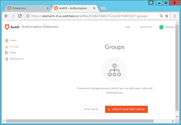 HTTP Commander Auth0 integration  (Forms version)